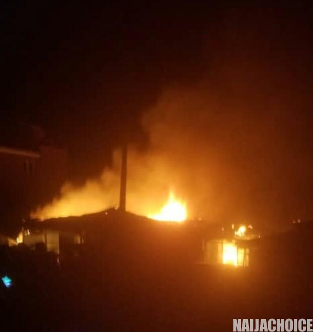Fire Razes Houses In Akure, Properties Worth Millions Of Naira Destroyed
