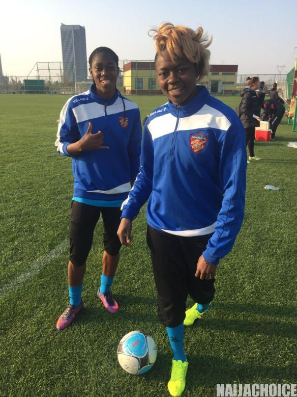 Former African Player Of The Year, Gaelle Enganamouit, Retires From Football (Pics)