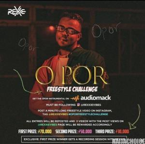 DOWNLOAD FREEBEAT: Rexxie – O Por (Freebeat Challange)