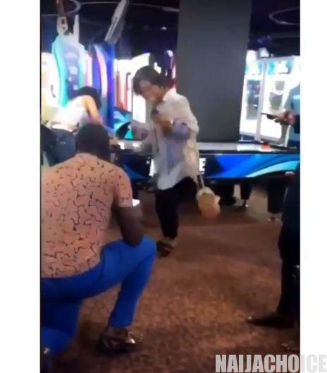 Excited Lady Dances As Her Fiance Proposes To Her (Video)