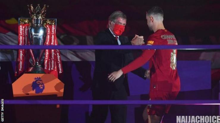 Liverpool Captain, Henderson Wins Football Writers' Men's Footballer Of The Year