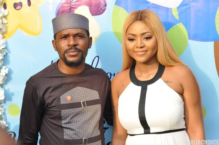 Photos & Video From Regina Daniels' Child's Naming Ceremony