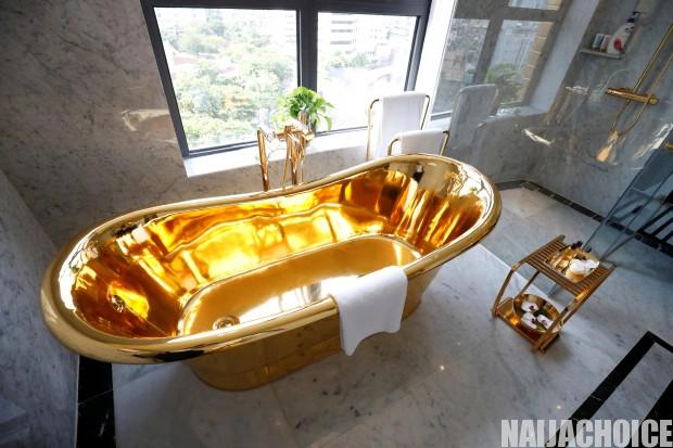 See Stunning Photos Of The 0m Hotel Made Of Gold In Vietnam