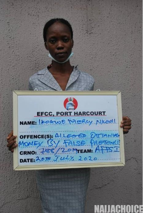 Woman Defrauds Victims Of N179M, Uses N139M For Sport Betting, N1M To Pay Tithe (Pix)