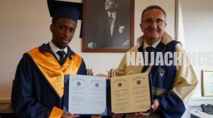 20-Year-Old Nigerian Is Best Graduating Student  In Turkish University (Pics)