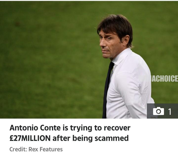 Antonio Conte Battling To Recover  Million He Lost To A Scammer