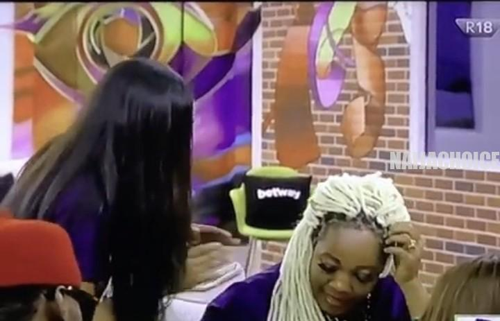 BBNaija: Erica Slams Fellow Housemate, Lucy, Calls Her A Clown In A Heated Argument