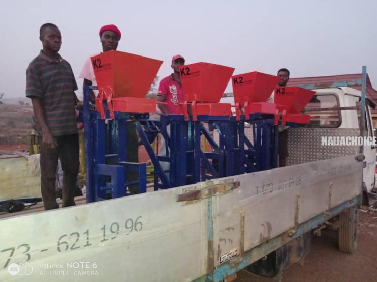 Checkout How This Nigerian Architect Turned Metals Into Machineries (Photos)