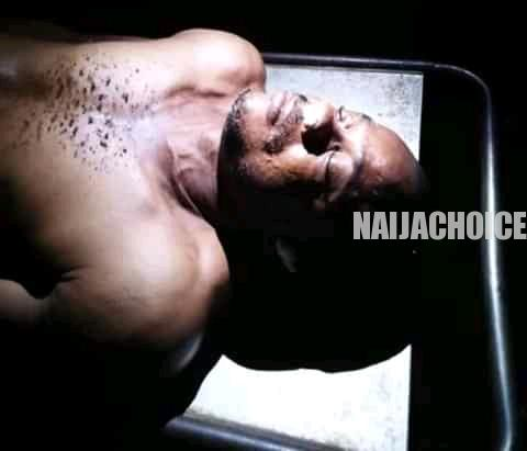 Drunk Man Who Took Girlfriend For Swimming Drowns In Anambra Hotel (Disturbing Photo)