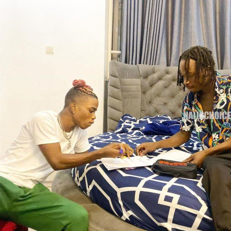 "Ex YBNL Singer ""Lyta"" Signed To Naira Marley Label ""Marlians Music"" (Photos)"