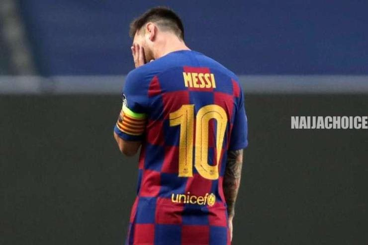 Messi Trying To Force Barcelona President To Resign After Bayern Humiliation