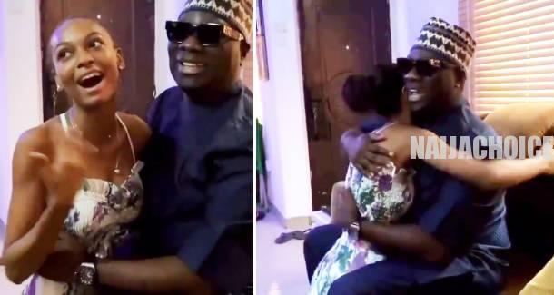 Mompha Visits Adeherself In Her House (Video)