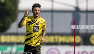 Sancho & Man United Agree Terms On A 5-Year Contract Worth £340,000 Per Week
