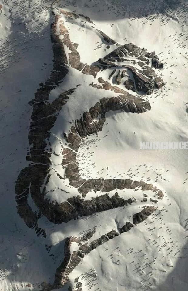 The Sleeping Lady Mountain In Alaska: Real Or Fake? (Photo)