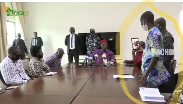 'You Are Very Stupid': FFK Blasts A Journalist In Calabar During Press Conference