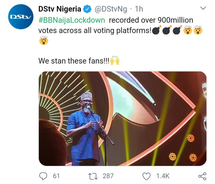 Big Brother Naija Lockdown 2020 Recorded Over 900 Million Votes – Multichoice