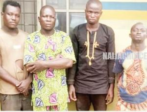Four Men Beat A Policeman To Death In Ogun (Photo)