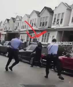 A Black American Shot Ten Times By US Police Officers , Sparks Protests (Video)