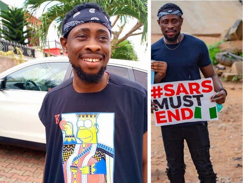 BBNaija Tricky Tee allegedly requests N500k for appearance fee for Bayelsa EndSARS protest