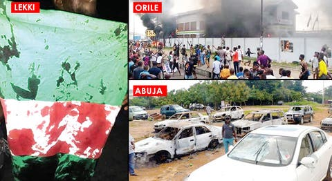 Black Tuesday: 49 Killed As EndSARS Protests Turn Bloody Across Nigeria