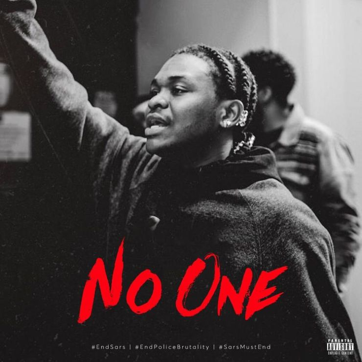 DOWNLOAD MP3: Dice Ailes – No one