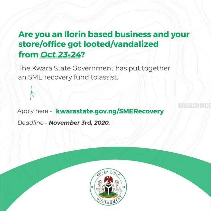 Kwara Government To Assist Owners Of Looted Shops In Ilorin