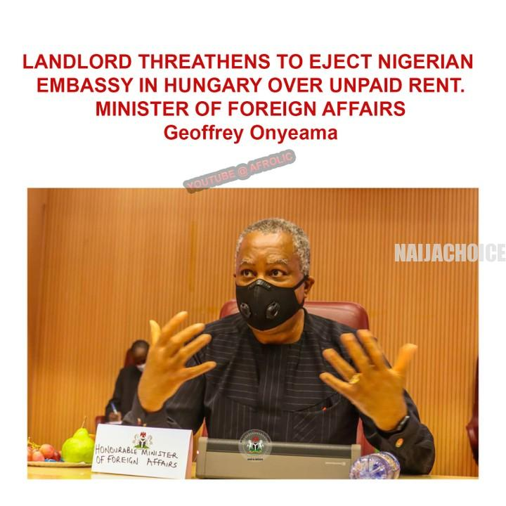 Landlord Threatens To Throw Nigerian Embassy Out In Hungary Over Unpaid Rent