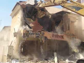 Kaduna Government Demolishes Hotel Building After It Was Announced As Venue For Sex Party (Photos)