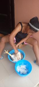 Lady Comes Under Fire For Appreciating The Christmas Chicken Her Husband Bought (Pix)