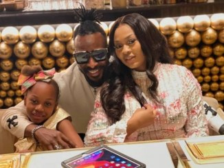 Photos Of 9ice, His Wife And Daughter On Vacation In Dubai