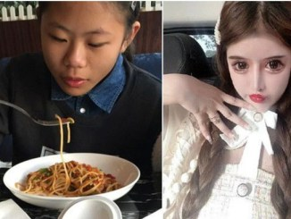 16-Year-Old Chinese Undergoes 100 Cosmetic Surgeries To Improve Her Looks (Photos)