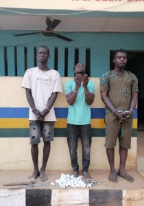 8 Members Of 2 Rival Cult Groups Arrested In Ogun (Photos)