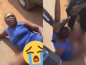 Lady Disgraced Publicly After Allegedly Stealing iPhone 12 (Photo)