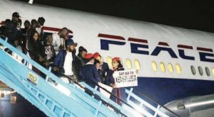 Air Peace Receives Brand New Airplane From Brazil (Video)