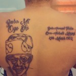 """""""My Husband Has Chased Me Out Of The House"""" - Lady Who Tattooed Tinubu's Face"""