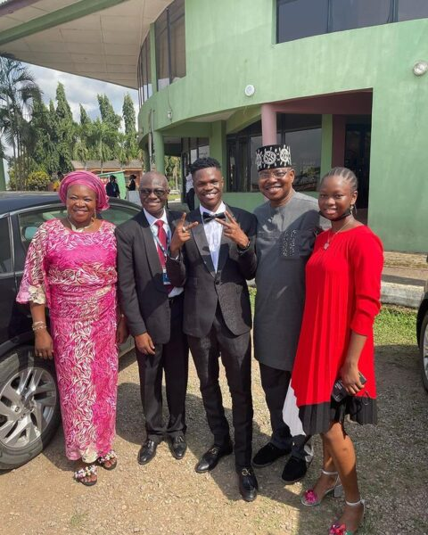 Singer, Bad Boy Timz Graduates From Bells University (Pictures)
