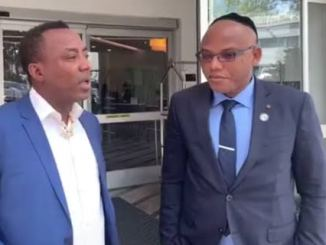 'Nnamdi Kanu Was Not Arrested In The UK, He Was Kidnapped' - Sowore