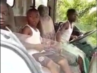 13-Year-Old Nigerian Boy Seen Driving A Truck (Photo, Video)
