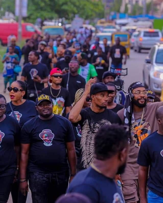 Adewale Ayuba, Jaywon, Others Hold Procession For Sound Sultan (Pictures)