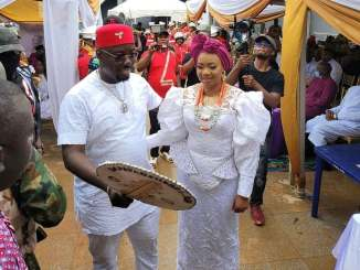 Pictures From Obi Cubana's Mother's Burial