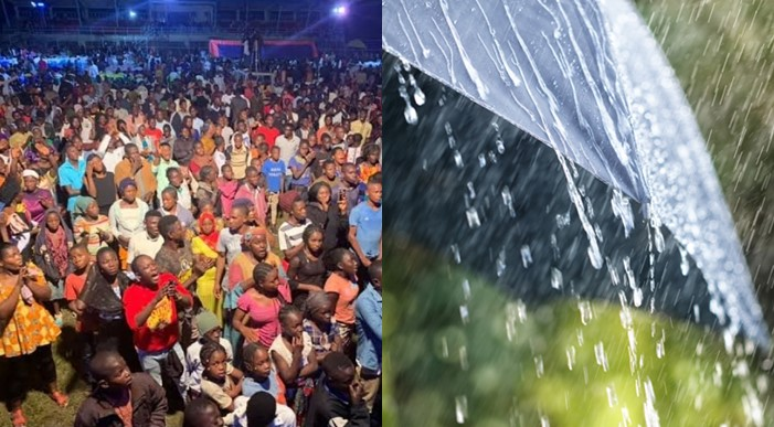 Pastor reportedly pays native doctor to hold rain during his crusade in Rivers state