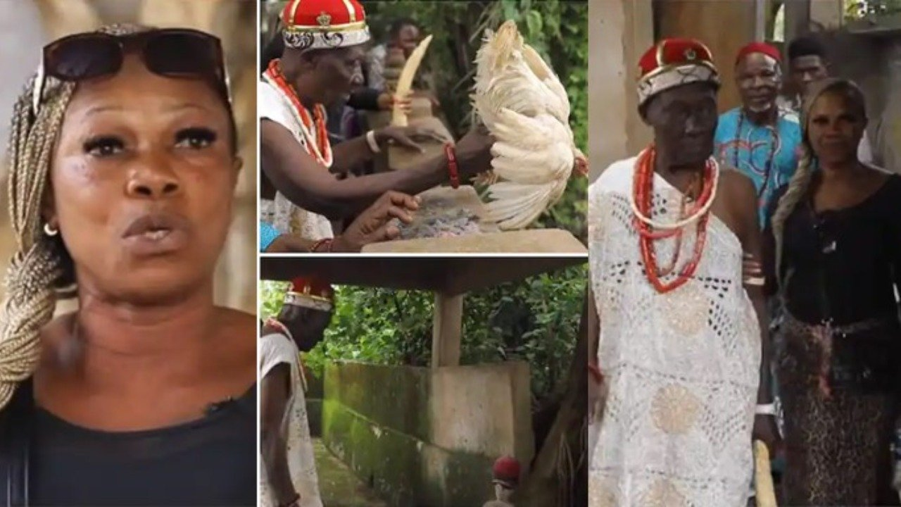 Pastors Come To Our Shrine To Get Power – Prayer Warrior Turned Chief Priest's Wife