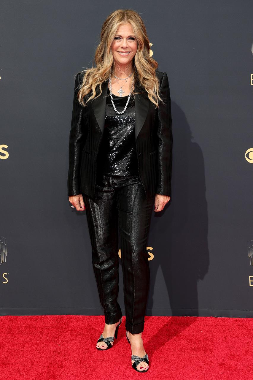 Rita Wilson Recalls Being Named the Worst Dressed of 2010 'with Gaga's Meat Dress' at 2021 Emmys