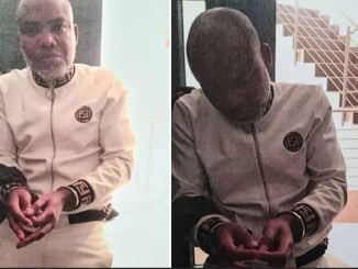 [BREAKING] Treason: Nnamdi Kanu Brought To Court Amidst Tight Security