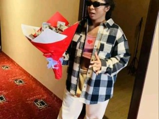 Fans Gift BBNaija's Liquorose A Bouquet Made With Hard Currency (Photos, Video)