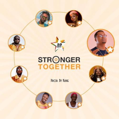 Efya, Yaa Pono, Bosom Pyung, Kojo Cue, Fancy Gadam, CJ Biggerman, Pappy Kojo, Feli Nuna – Stronger Together mp3 download
