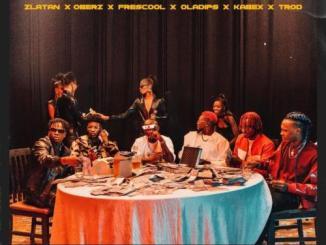 Zlatan Ft. Oberz, Frescool, Oladips, Kabex, TROD – Lagos Anthem (Remix)