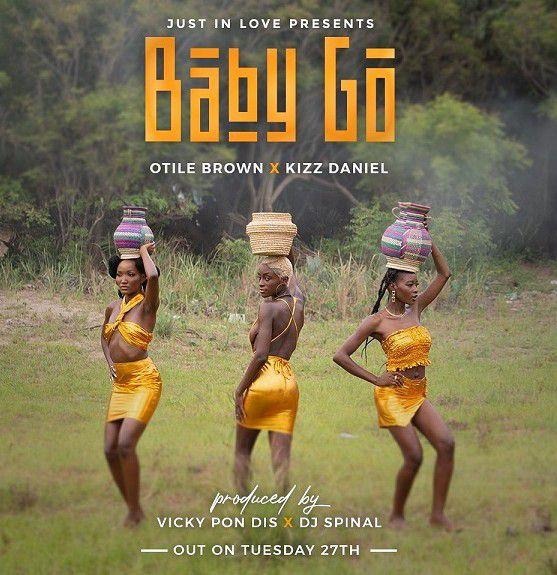 Otile Brown Ft. Kizz Daniel – Baby Go mp3 download