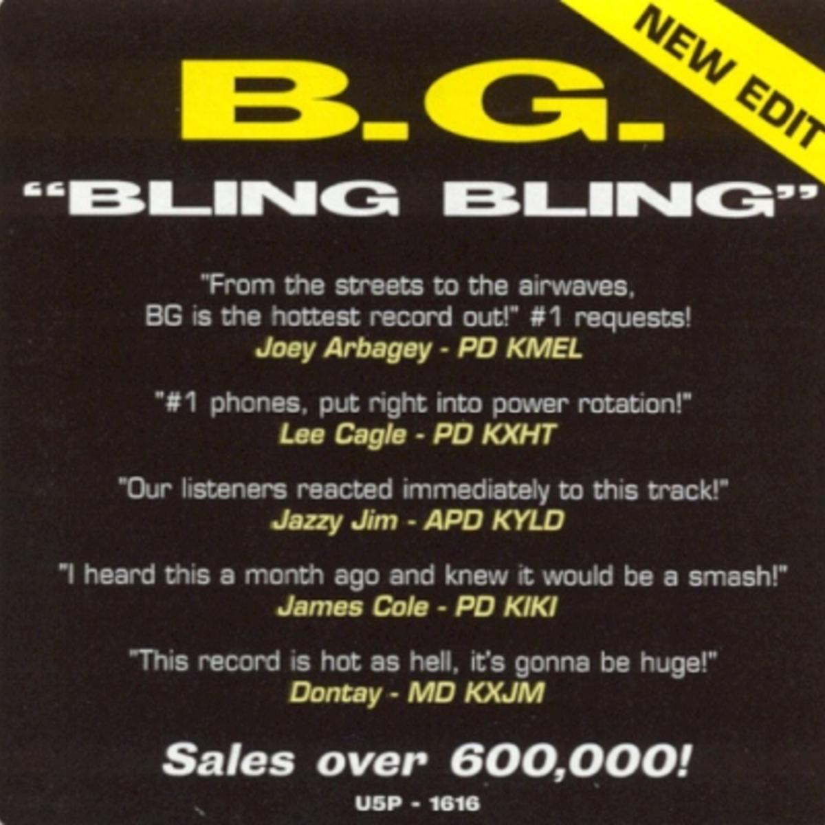 B.G. Ft. Big Tymers & Hot Boyz - Bling Bling mp3 download