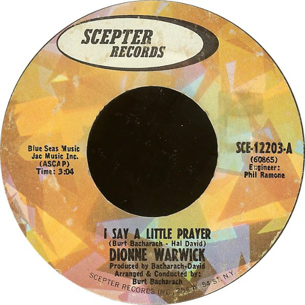 Dionne Warwick - I Say a Little Prayer mp3 download